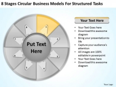PowerPoint Templates Models For Structured Tasks Consulting Business Plan Slides