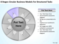 PowerPoint Templates Models For Structured Tasks Planning Business
