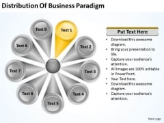 PowerPoint Templates Paradigm 9 Stages Ppt Business Plan Model