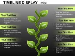PowerPoint Templates Planning And Forecasting Timelines Time Charts Ppt Slides