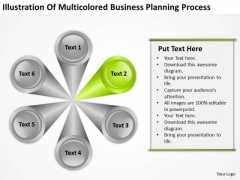 PowerPoint Templates Planning Process 6 Stages Ppt Business Slides