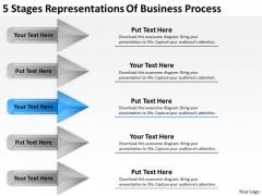 PowerPoint Templates Process Business Plan For Non Profit Organization Slides