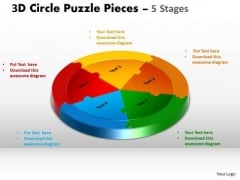 PowerPoint Templates Process Circle Puzzle Ppt Layouts