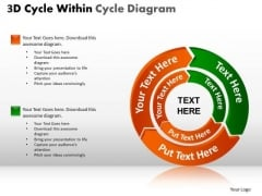 PowerPoint Templates Process Cycle Chart Ppt Slides