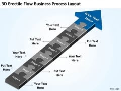 PowerPoint Templates Process Layout Companies That Write Business Plans Slides