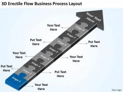 PowerPoint Templates Process Layout Non Profit Business Plan