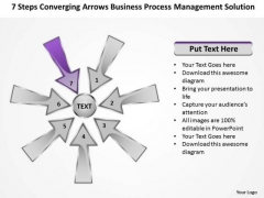 PowerPoint Templates Process Management Solution Cycle Circular Arrow