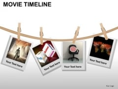 PowerPoint Templates Process Movie Timeline Ppt Design