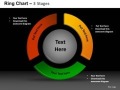 PowerPoint Templates Process Ring Chart Ppt Designs