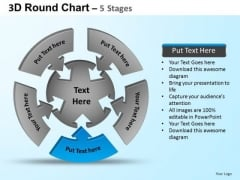 PowerPoint Templates Process Round Process Flow Chart Ppt Theme
