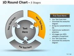 PowerPoint Templates Process Round Process Flow Chart Ppt Themes