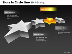 PowerPoint Templates Process Stars In Circle Ppt Layouts