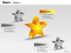 PowerPoint Templates Process Stars Ppt Themes