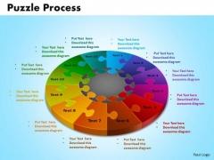 PowerPoint Templates Puzzle Process Business Ppt Slides