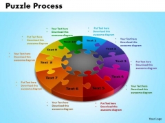 PowerPoint Templates Puzzle Process Company Ppt Design