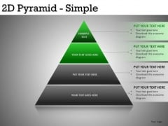 PowerPoint Templates Pyramids 4 Layers