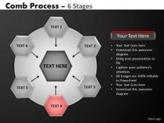 PowerPoint Templates Sales Hub And Spokes Process Ppt Themes