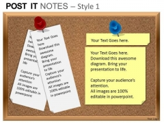 PowerPoint Templates Sales Post It Notes Ppt Themes