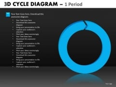 PowerPoint Templates Single Stage Cycle Diagrams Ppt Slides