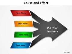 PowerPoint Templates Strategy Cause And Effect Ppt Design