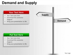 PowerPoint Templates Strategy Demand And Supply Ppt Themes