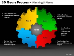 PowerPoint Templates Strategy Gears Process Ppt Presentation