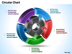 PowerPoint Templates Strategy Interconnected Circular Chart Ppt Design