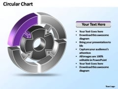 PowerPoint Templates Strategy Interconnected Circular Chart Ppt Designs
