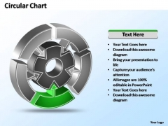 PowerPoint Templates Strategy Interconnected Circular Chart Ppt Process
