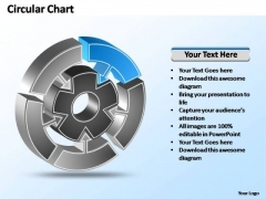 PowerPoint Templates Strategy Interconnected Circular Chart Ppt Slides
