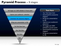 PowerPoint Templates Strategy Pyramid Ppt Process