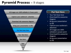 PowerPoint Templates Strategy Pyramid Process Ppt Backgrounds