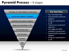 PowerPoint Templates Strategy Pyramid Process Ppt Presentation Designs
