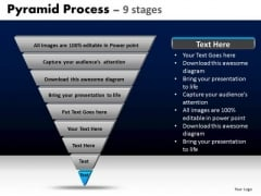 PowerPoint Templates Strategy Pyramid Process Ppt Slide