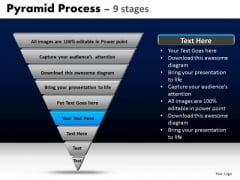 PowerPoint Templates Strategy Pyramid Process Ppt Template