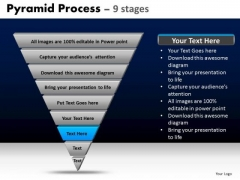 PowerPoint Templates Strategy Pyramid Process Ppt Theme