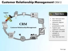 PowerPoint Templates Strategy Relationship Management Ppt Process