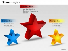 PowerPoint Templates Strategy Stars Ppt Themes