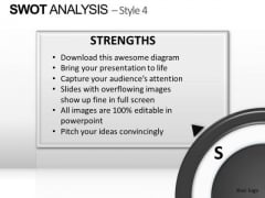 PowerPoint Templates Strategy Swot Analysis Ppt Slide