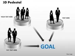 PowerPoint Templates Success 3d Pedestal Ppt Designs