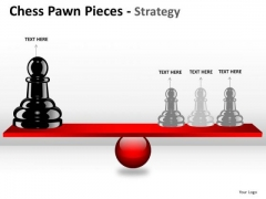 PowerPoint Templates Success Chess Pawn Ppt Slides
