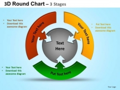 PowerPoint Templates Success Round Process Flow Chart Ppt Presentation Designs