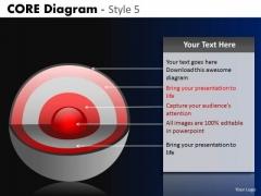 PowerPoint Theme Business Teamwork Targets Core Diagram Ppt Theme