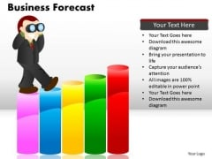 PowerPoint Theme Chart Business Forecast Ppt Slide