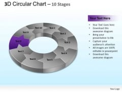PowerPoint Theme Chart Circular Ppt Slide Designs