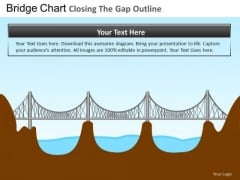 PowerPoint Theme Corporate Growth Bridges Gap Ppt Process