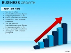 PowerPoint Theme Corporate Leadership Business Growth Ppt Templates