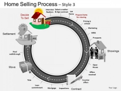 PowerPoint Theme Diagram Home Selling Ppt Layout