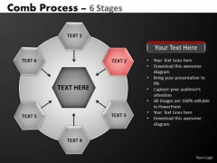 PowerPoint Theme Diagram Hub And Spokes Process Ppt Layouts