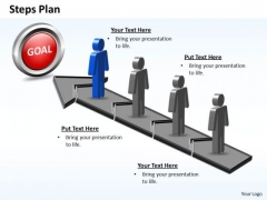 PowerPoint Theme Diagram Steps Plan 4 Stages Style 5 Ppt Templates